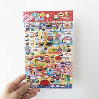 DAISO Sushi Sticker
