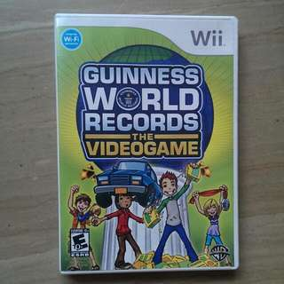 Guinness World Records Videogame (Nintendo Wii)