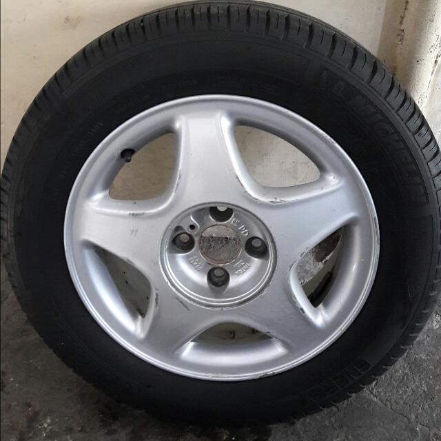 """15""""MAGS WITH TIRES (negotiable)"""