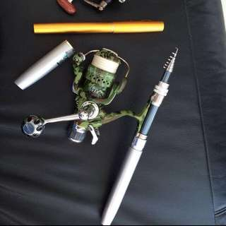 1.6m Pen Rod - Rod Only, Camo Reel Sold Separately.