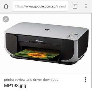 Canon MP198 Printer