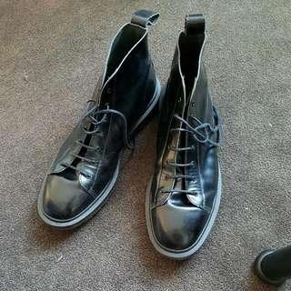 Dr Martens Black High Top Boots