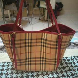Authentic Canterbury Check tote