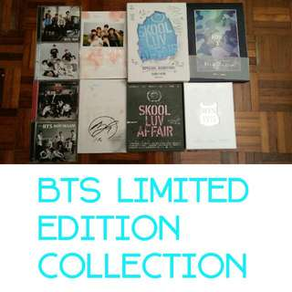 All Price Reduced! Clearance! BTS Limited Edition Collection. All Negotiable. Offer Me Your Price, I Don't Bite 😘