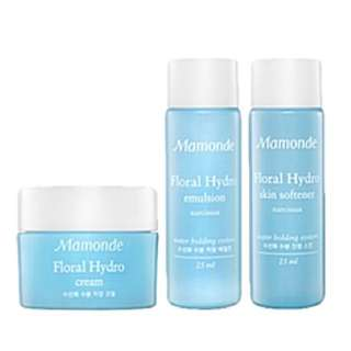 Sale!!!!❤ Mamonde floral Hydro set (3pcs)