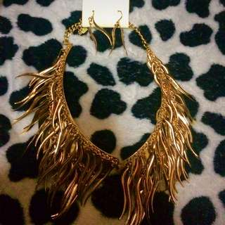 Imported Necklace With Earrings From The US