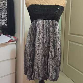 UK size 14 bubble dress with sequins