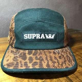 SUPRA leather Panel SnapBack