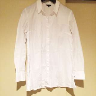 CUE Split Back Shirt Size 12. Pick Up Only