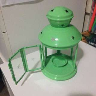Green IKEA Tea light Candle Holder
