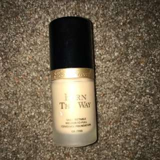 Too Faced Born This Way Foundation 'snow'