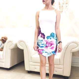 New Floral Bodycon Dress