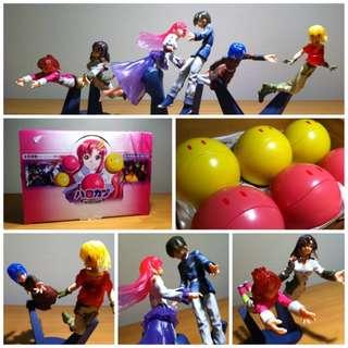 Gundam SEED Haro Capsule Anime Figure Set (Set of 6)