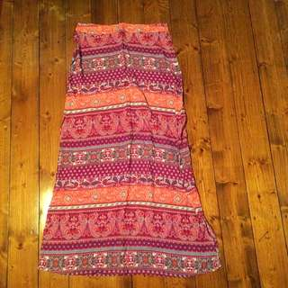 Maxi Skirt With Side Splits