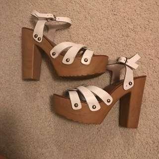 Windsor Smith Wooden Heels