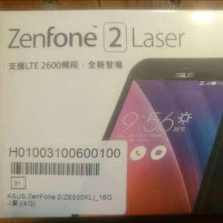 全新 zenfone2 laser (ZE550KL) 16G