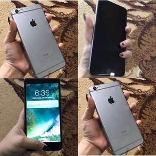 IPHONE 6 16gb grey TURUN HARGA !!