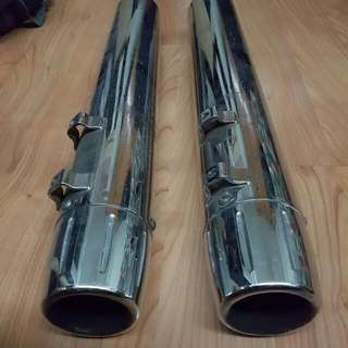 Harley Davidson Screaming Eagle Exhaust Pipe