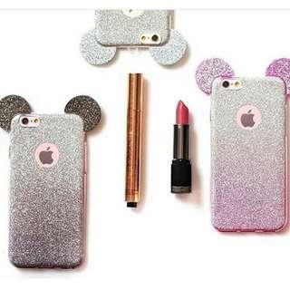 Mickey glitter case