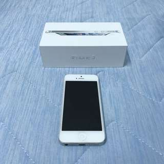女用機 Iphone5 銀色 16g