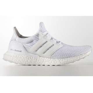 "Adidas Ultra Boost ""Triple White 3.0"""