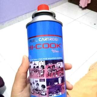 Tabung Gas Mini Hi-Cook/Hi-Cook Utk Kompor Portable/Gas Hi-Cook