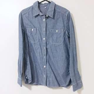 Muji Blue Shirt