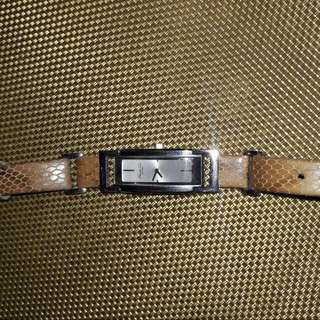 Kenneth Cole Snakeskin Strap Watch Authentic