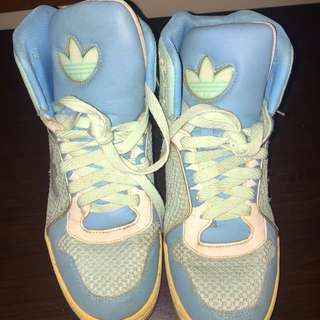 Authentic Adidas High Tops
