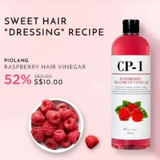 Authentic Piolang Raspberry Hair Vinegar from Korea 500ml