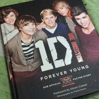 One direction 1世代 FOREVER YOUNG 寫真書