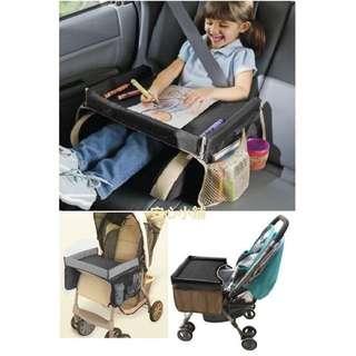 安心小鋪《D07》全新現貨玩具脫盤/汽車兒童安全座椅旅遊托盤嬰兒推車玩具托盤畫畫板