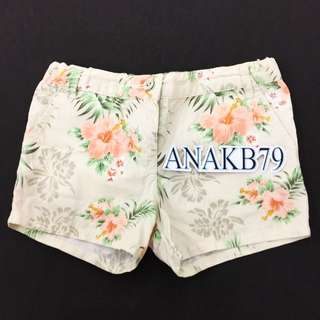 Gingersnaps Ori Authentic Celana Pendek 5-6 Thn