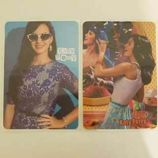 Katy Perry Yes Card(X2)