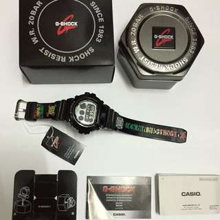 G-Shock DW-6900 Custom Rasta