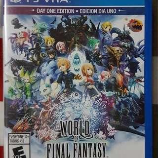 Ps Vita - World of Final Fantasy