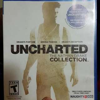 PS4 - Uncharted 1 2 & 3
