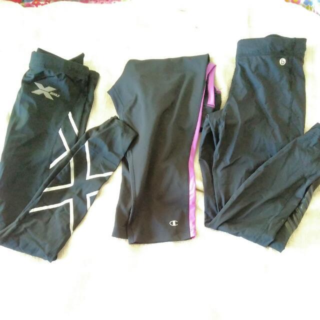 2XU Champion And Body Cotton On Pants Bundle
