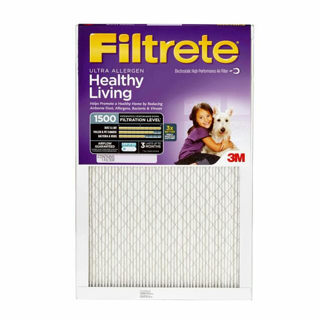 3M Triple Pack Furnace filter
