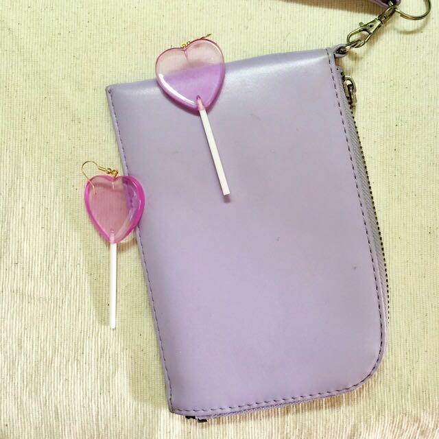 紫色掛包兩用
