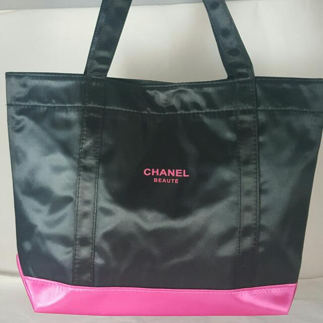 香奈兒塑膠布手提袋