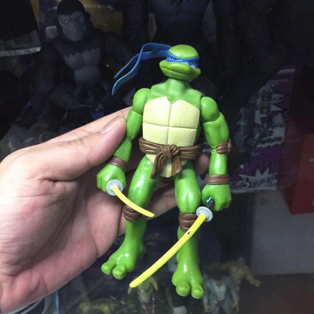 忍者龜 早期經典絕版二手公仔