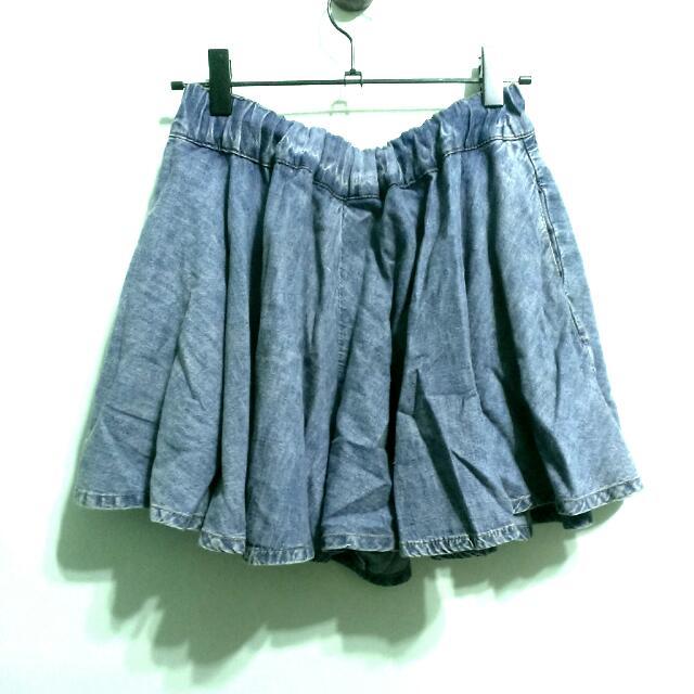日本小牌 牛仔褲裙 #兩百元短褲#三百元牛仔