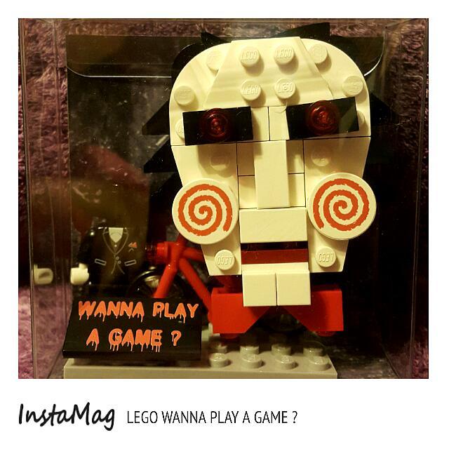 【售 樂高 奪魂鋸系列】 《LEGO WANNA PLAY A GAME ? 》