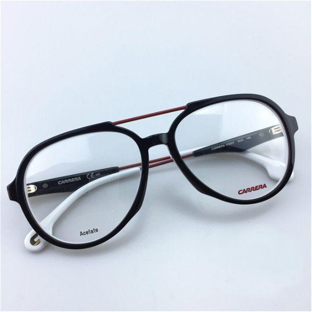 全新正品 CARRERA 復古 雙梁 大框 飛行員眼鏡 鏡框 超越 RayBan 雷朋 黑 紅 白