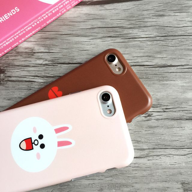 現貨 iPhone7系列 LINE系列 熊大IMD 全包邊軟殼