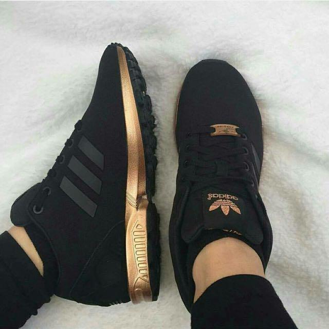 Adidas Flux Rose Gold/black