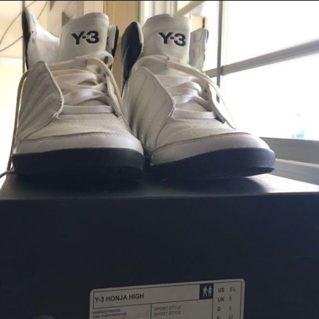 9d4d2647431e Adidas Y3 (Yohji Yamamoto) Honja High