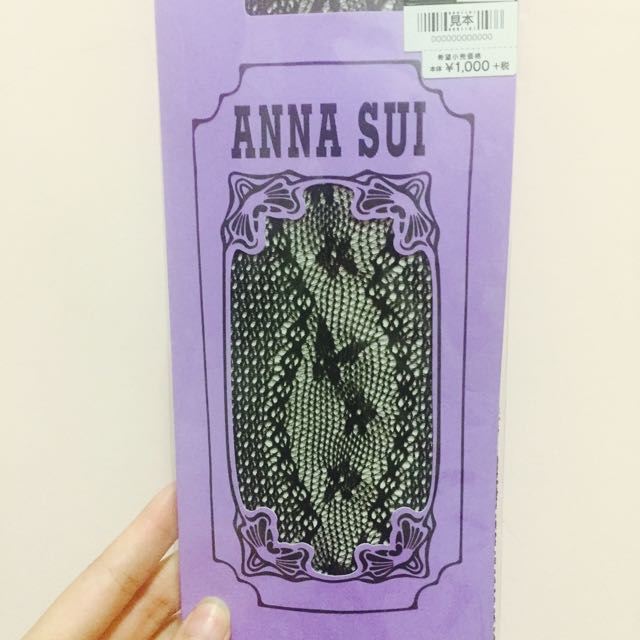 ANNA SUI (半桶網襪 )
