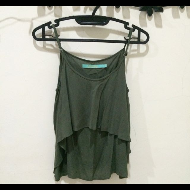 Army Layered Tank Top